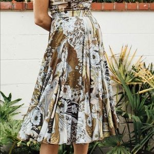Novella Royale Scarlet Skirt Olive XS